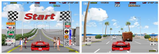 Final Freeway - Arcade-Rennspiel für iPhone, iPod Touch und iPad - Screenshots